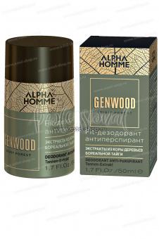 Estel Alpha Homme Genwood Fit Дезодорант антиперспирант 50 мл. - Интернет-магазин Estel Professional