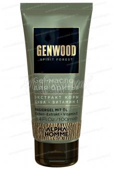 Estel Alpha Homme Genwood Gel-масло для бритья 100 мл. - Интернет-магазин Estel Professional